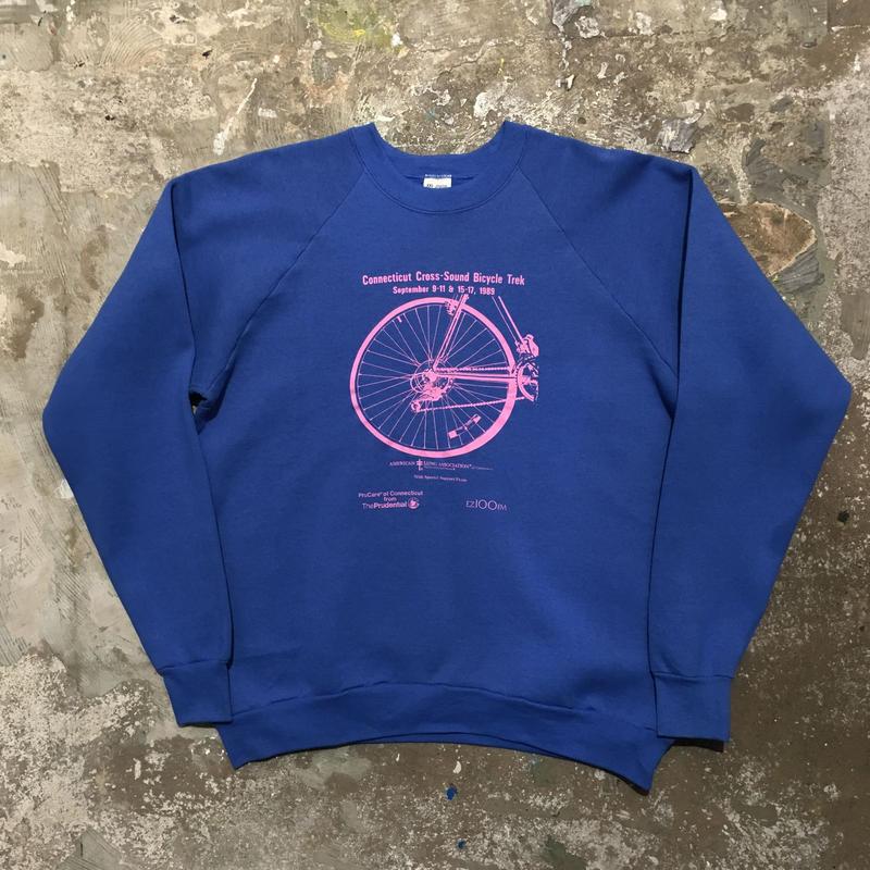 80's FRUIT OF THE LOOM Bicycle Trek Sweatshirt
