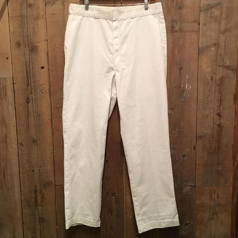 80's~ Dickies Work Pants BLACK  W : 38