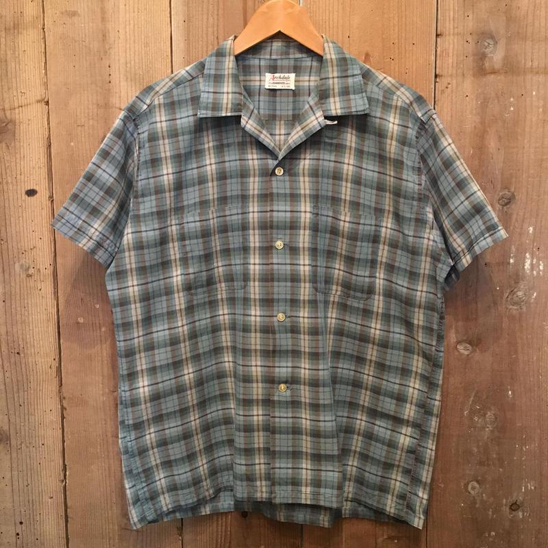 60's~ Archdale Open Collar Shirt