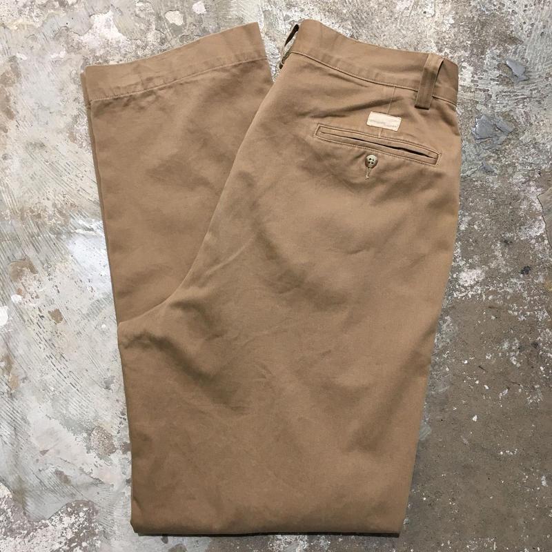 90's Polo Ralph Lauren Chino Pants L.BROWN W : 32