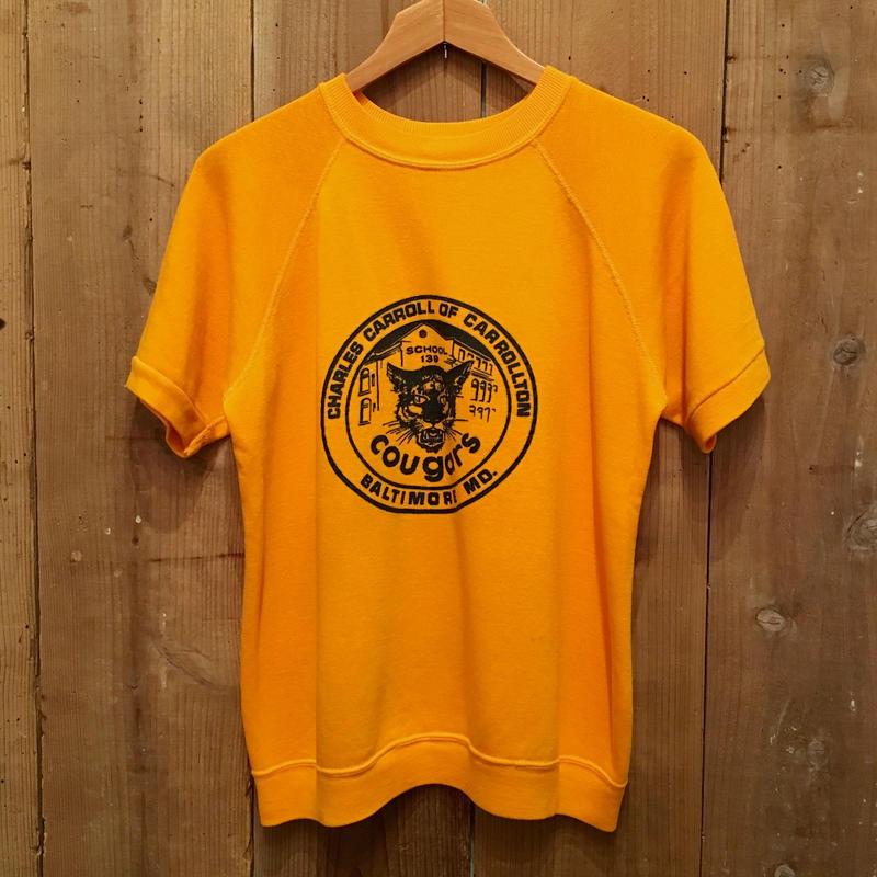 70's~ Unknown Printed S/S Sweatshirt