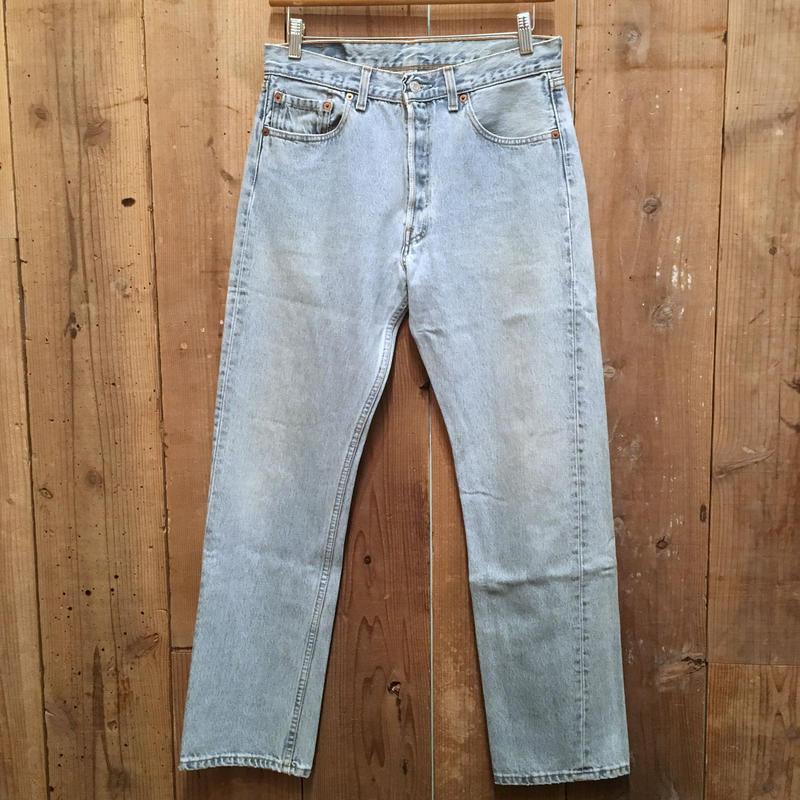 90's Levi's 501 Denim Pants W 33 #2