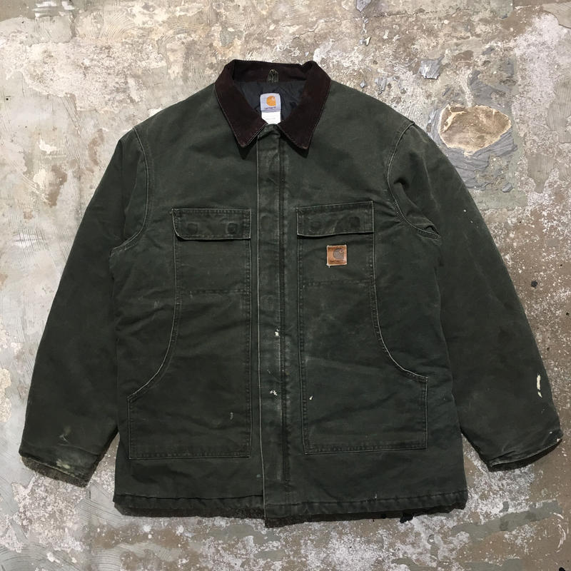 90's Carhartt Traditional Coat GREEN