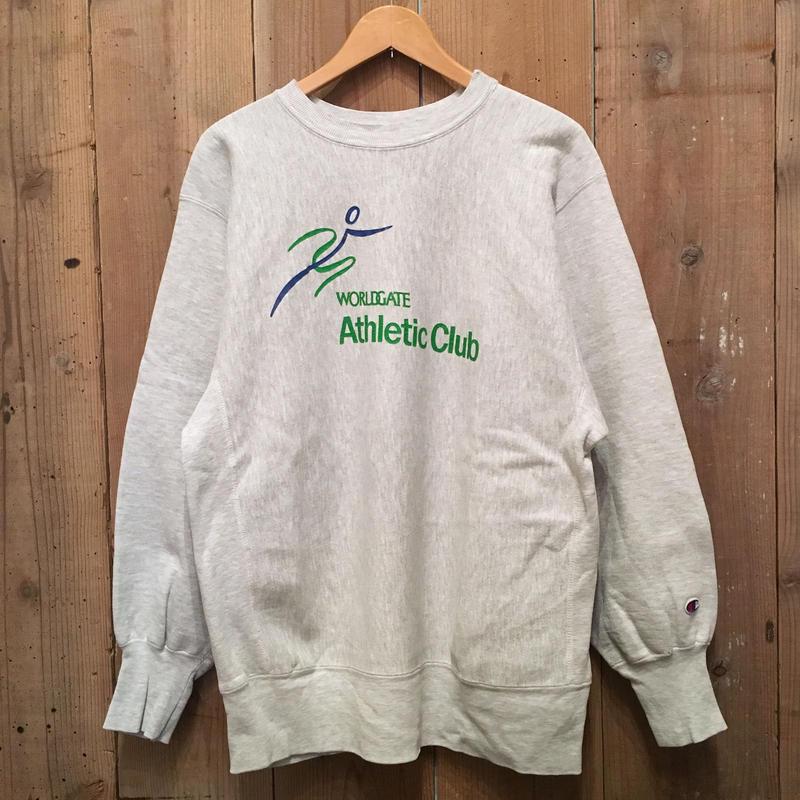 90's Champion REVERSE WEAVE Sweat Shirt WORLDGATE (SIZE : XL)