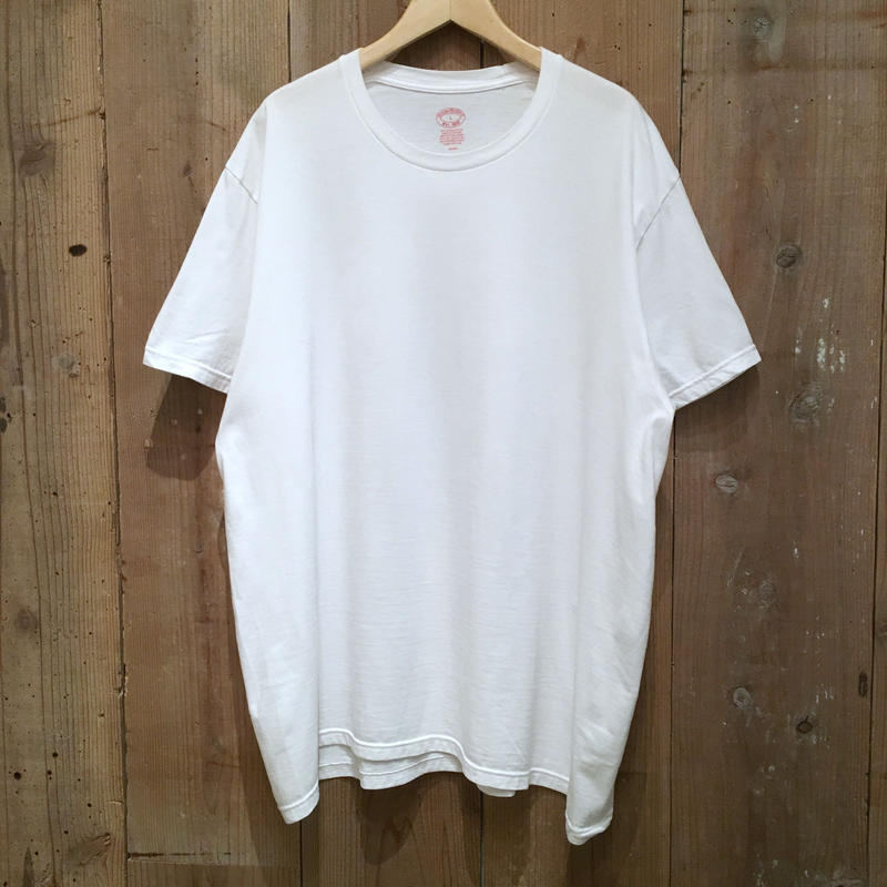 BROOKS BROTHERS Plain Tee WHITE