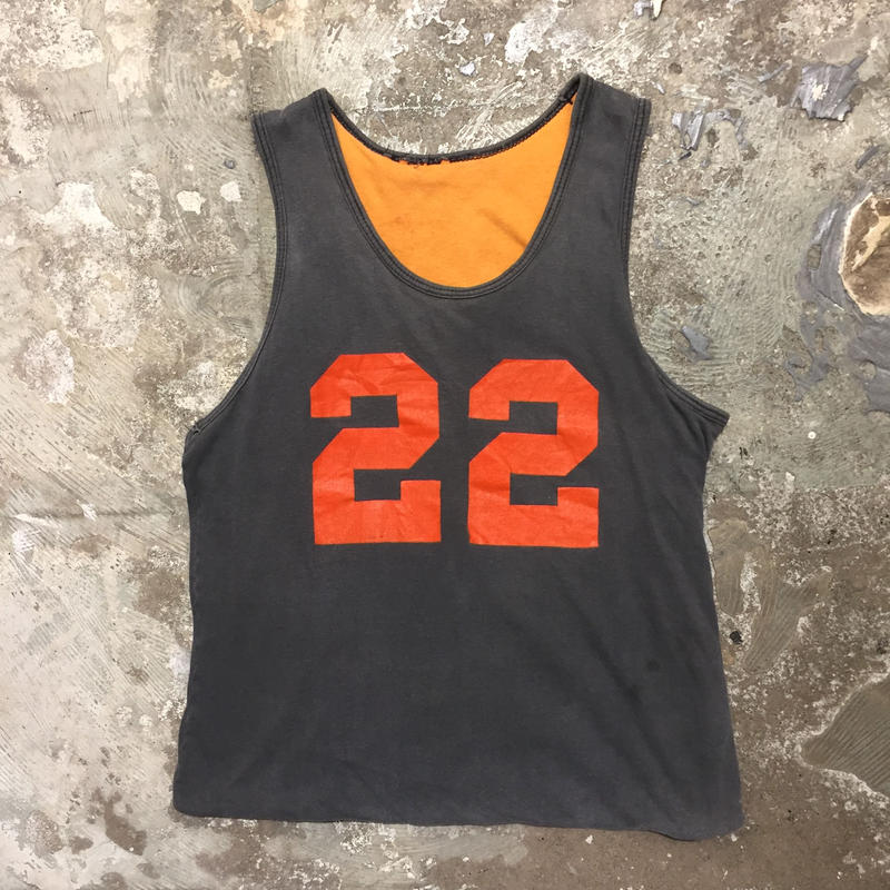60's SOUTHERN ATHLETIC Reversible Tank Top