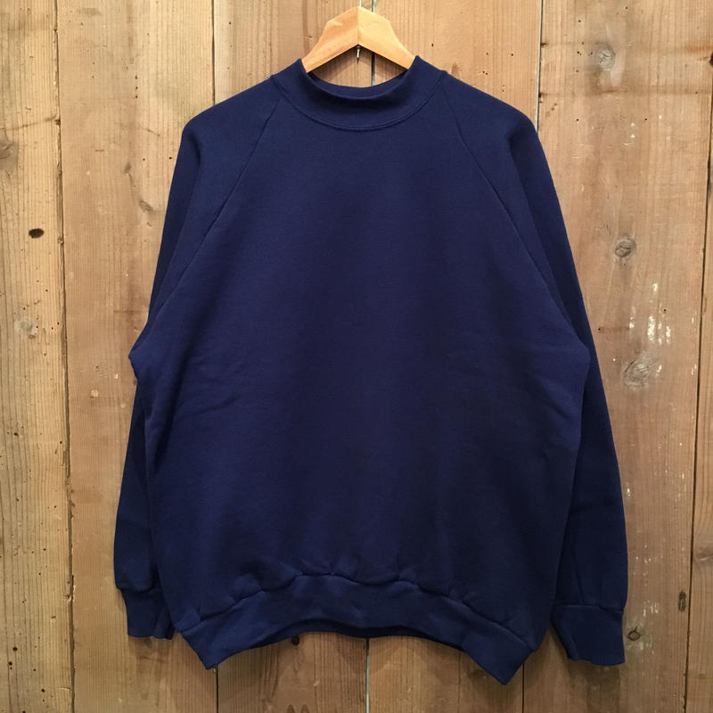 90's FRUIT OF THE LOOM Mid Neck Sweatshirt (Dead Stock)