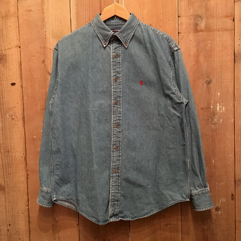 90's Ralph Lauren B.D Denim Shirt