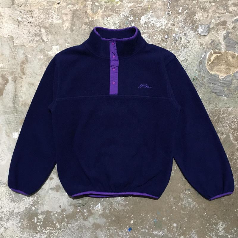 90's L.L.Bean Snap Fleece Jacket