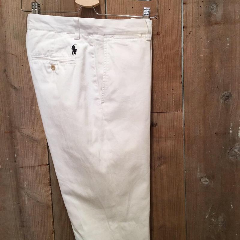 Polo Ralph Lauren Chino Pants WHITE W : 32
