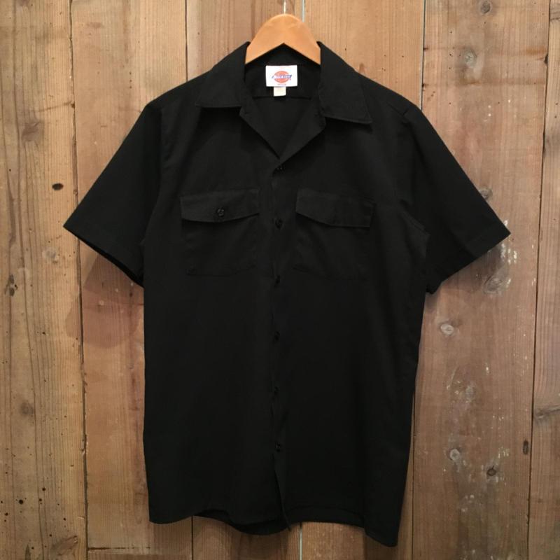 90's Dickies S/S Work Shirt BLACK