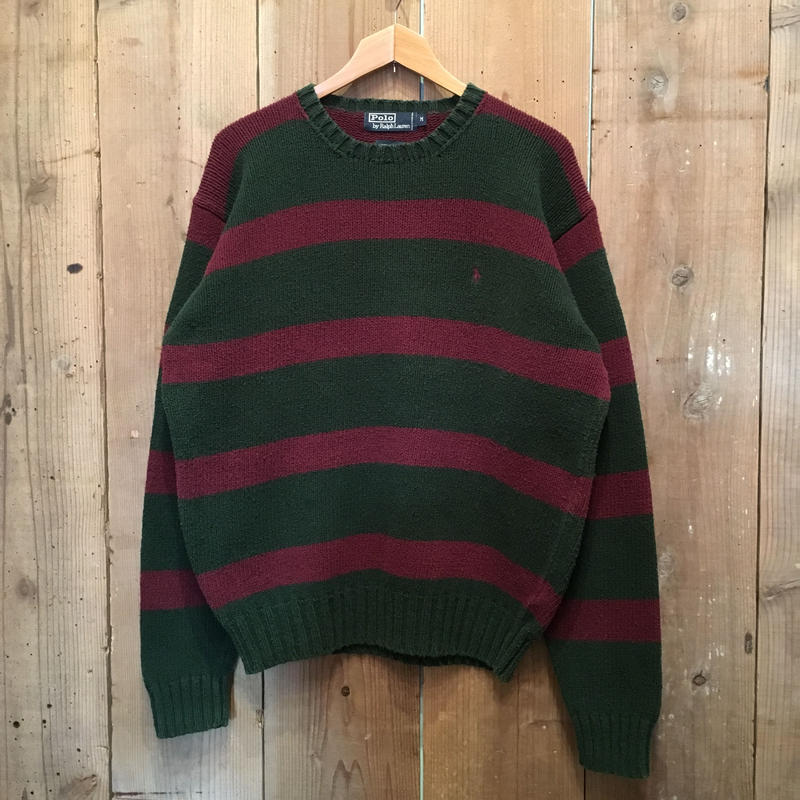 Polo Ralph Lauren Cotton Knit Striped Sweater