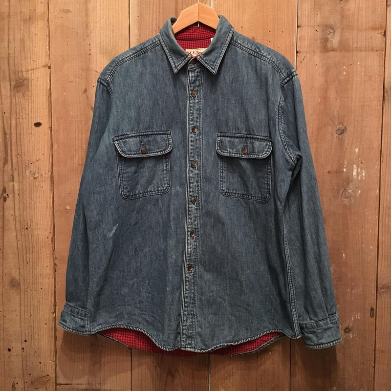 90's L.L.Bean Denim Shirt