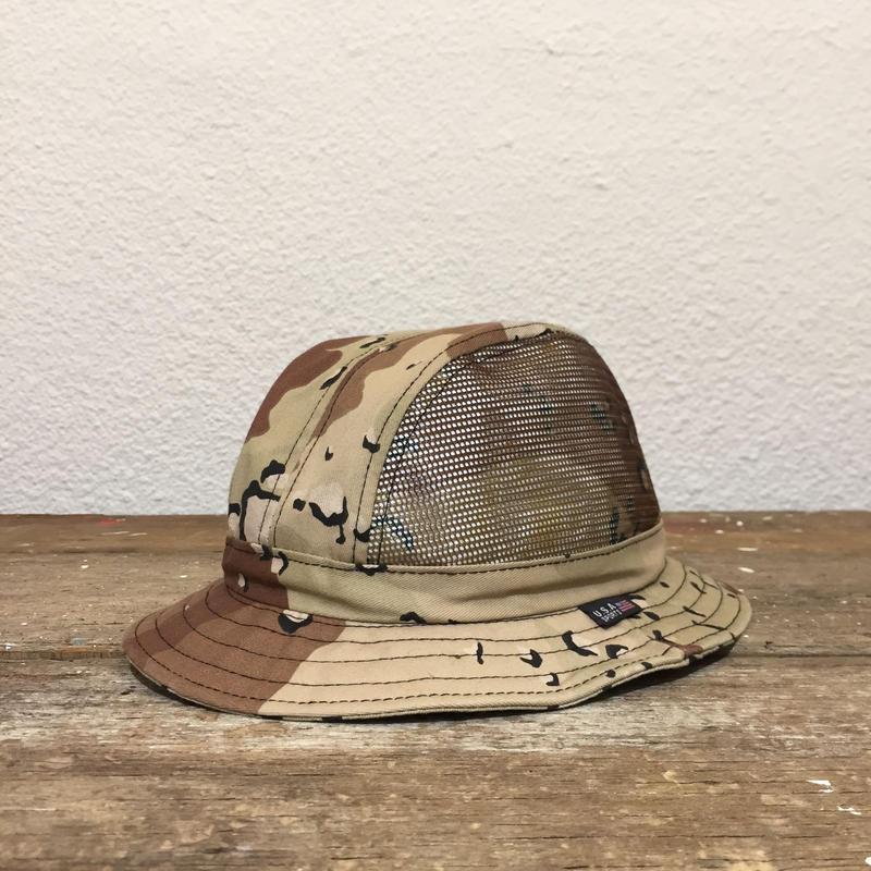 80's~ Desart Camouflage Mesh Hat