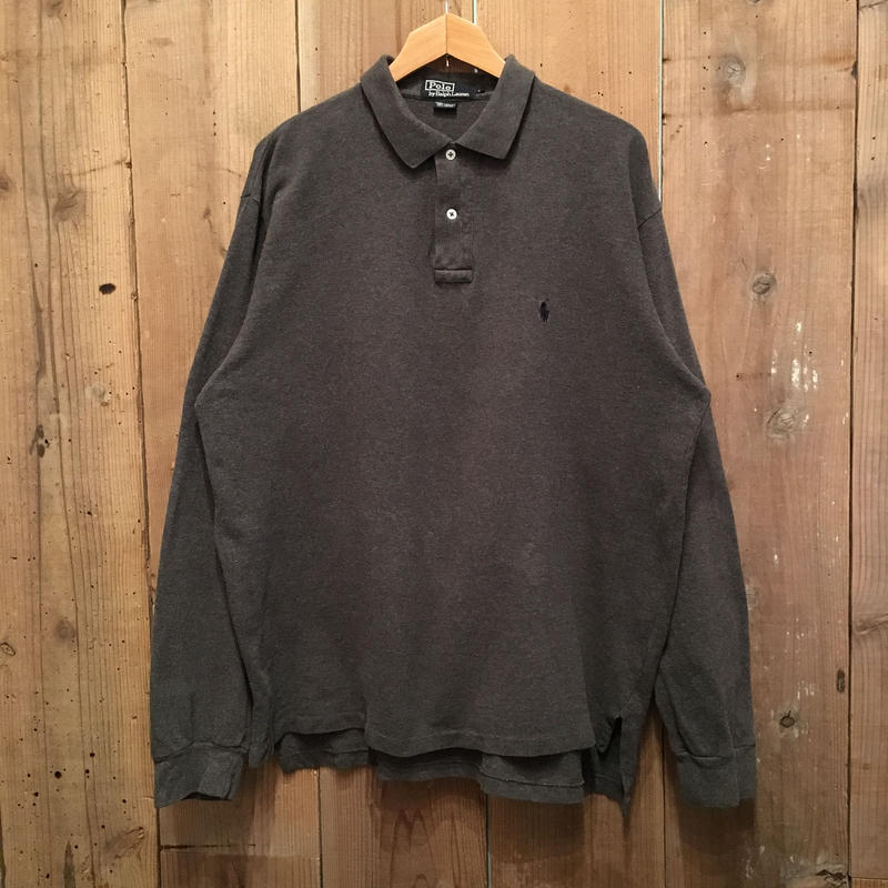 Polo Ralph Lauren L/S Polo shirt  CHARCOAL