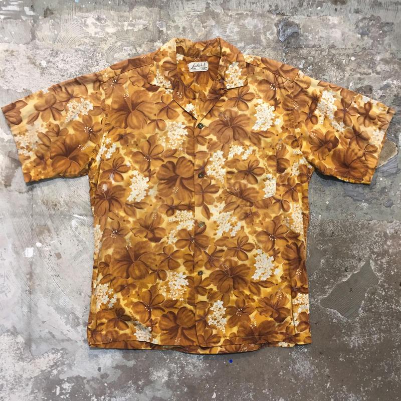 60's Leslie's Cotton Aloha Shirt