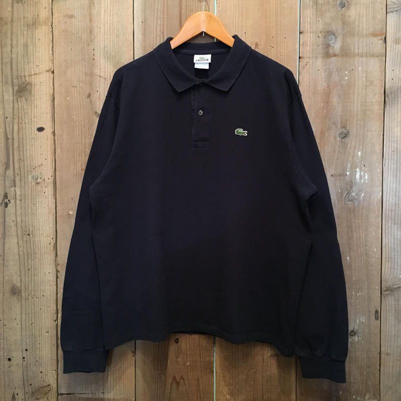 LACOSTE L/S Polo shirt NAVY