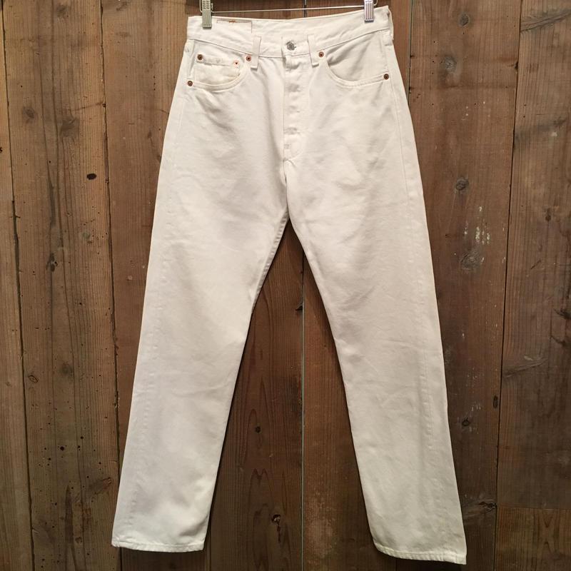 90's Levi's 501 WHITE Denim Pants W:31