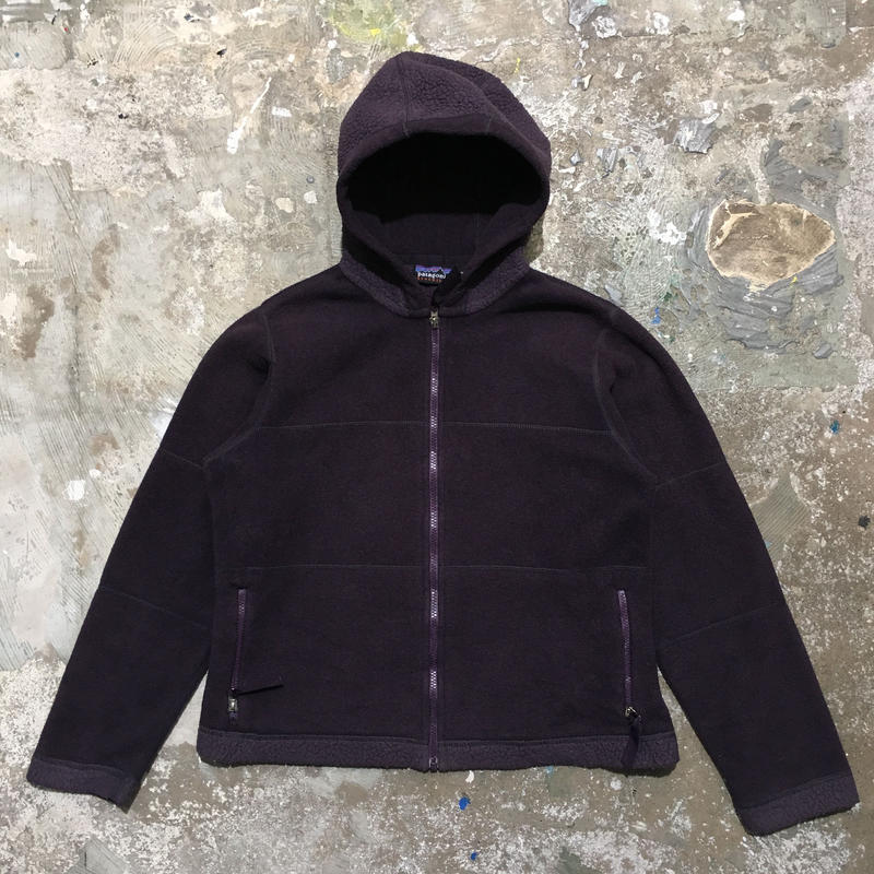 Patagonia Synchilla Fleece Hooded Jacket PURPLE