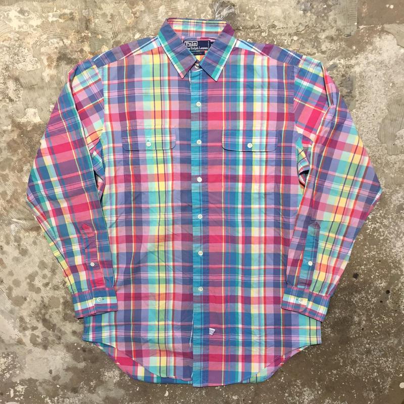 Polo Ralph Lauren Madras Plaid Shirt