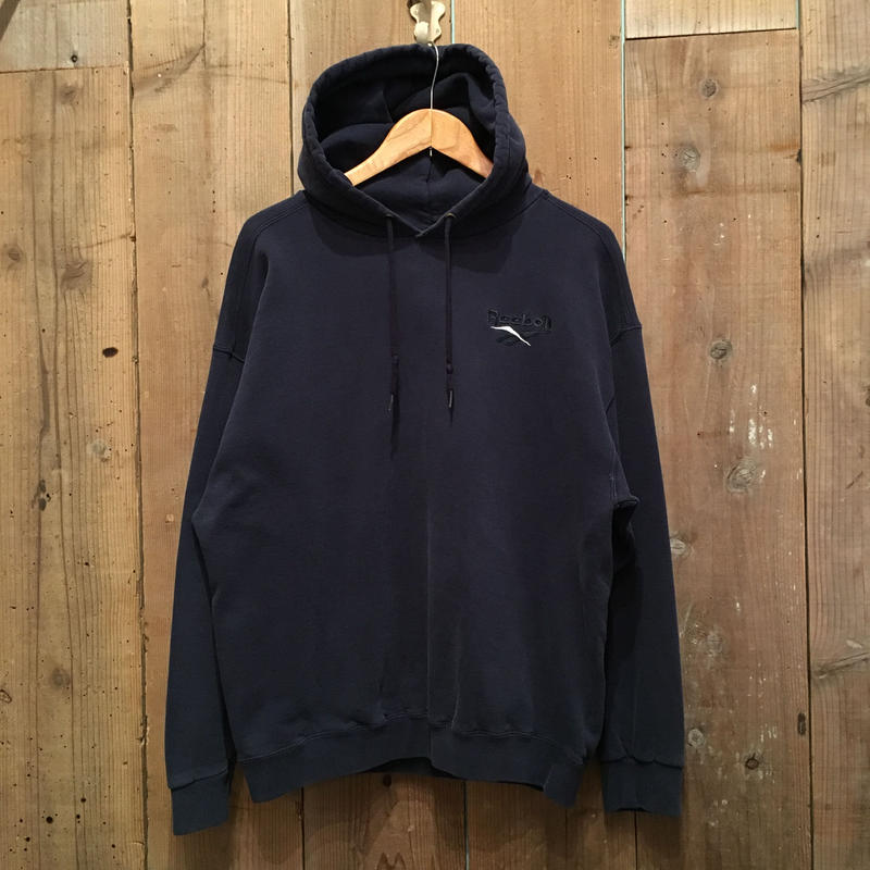 90's Reebok Athletic Hooded Sweatshirt