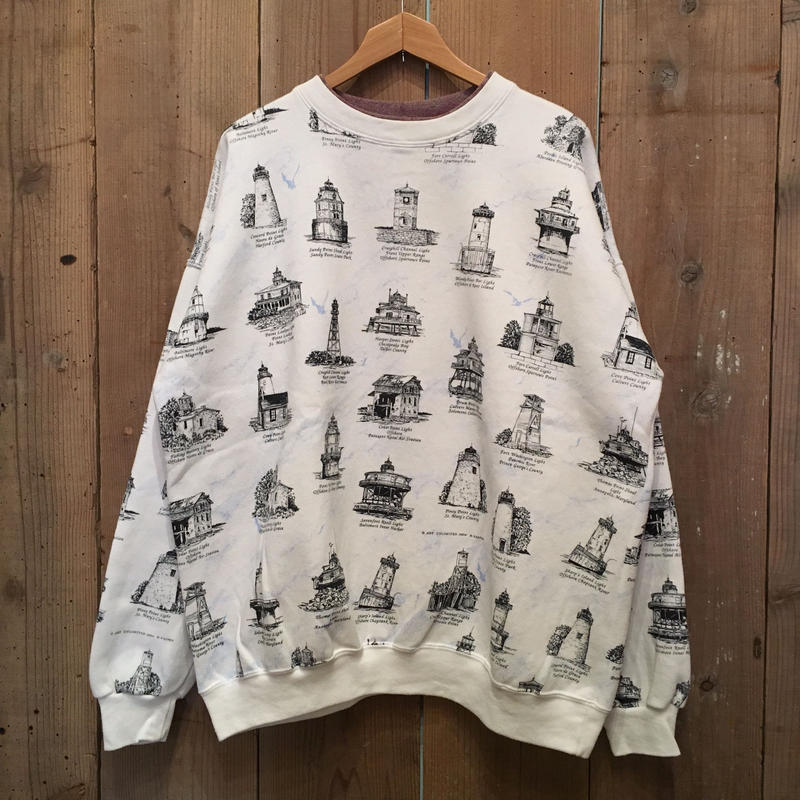 Lighthouse Printed Sweatshirt  #1