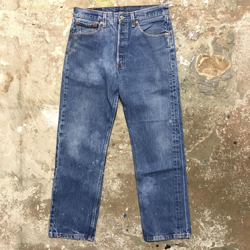 90's Levi's 501 Denim Pants W 33 #1