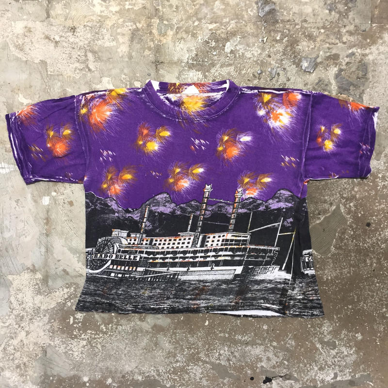 90's Colorado Belle All Over Printed Tee