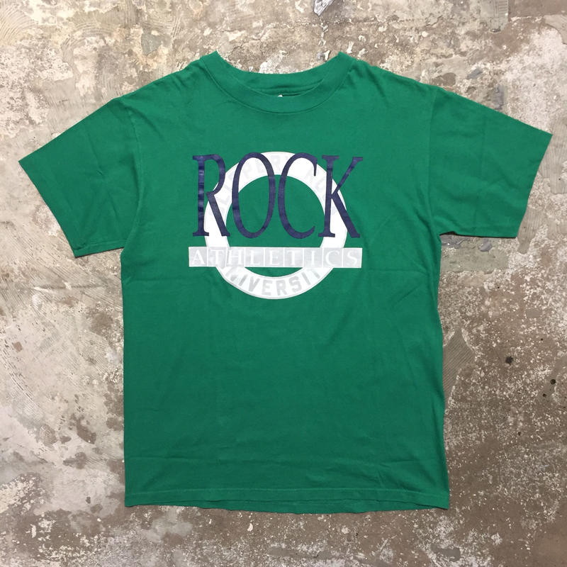 80's Champion SLIPPERY ROCK.U Tee