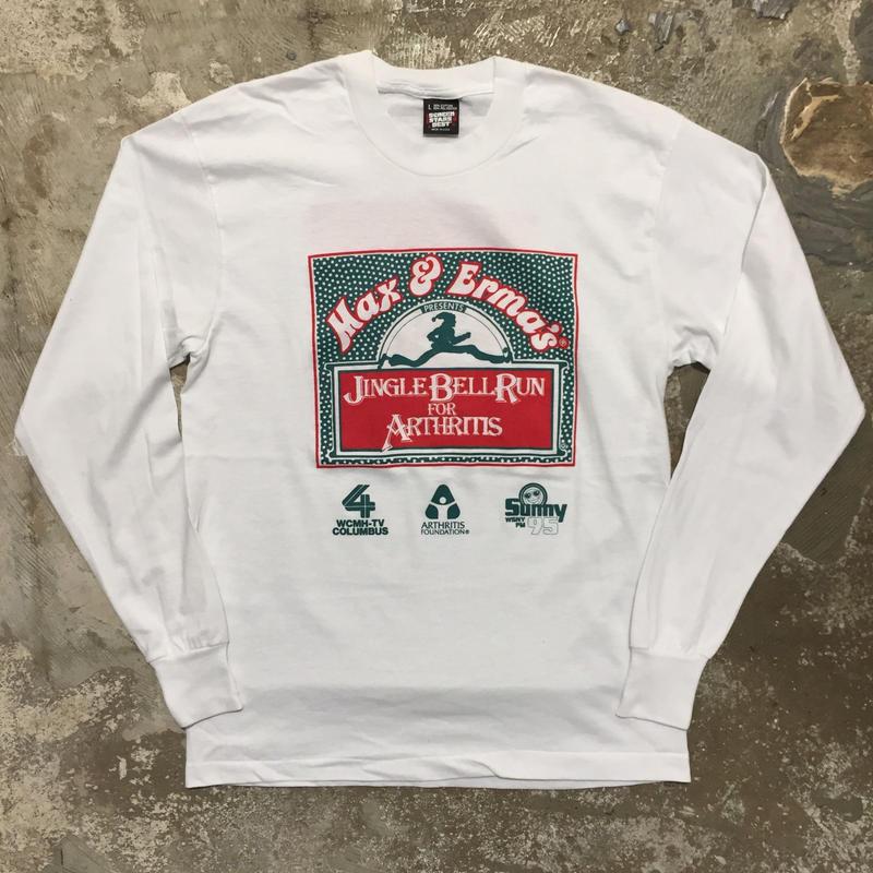 90's SCREEN STARS BEST L/S Tee WHITE