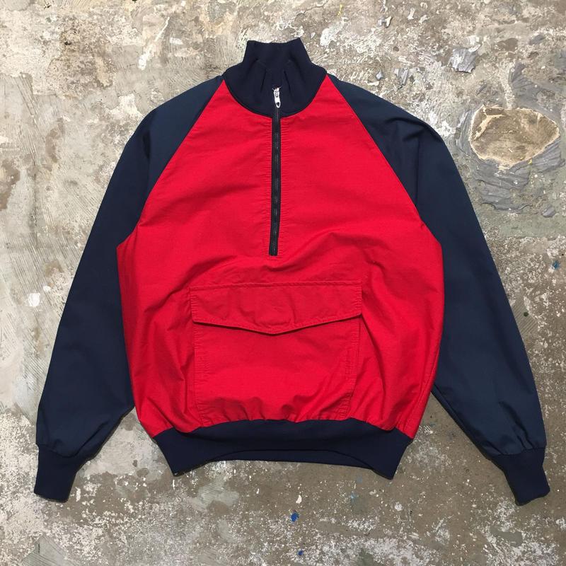 70's~ TRAILWOODS Half Zip Jacket