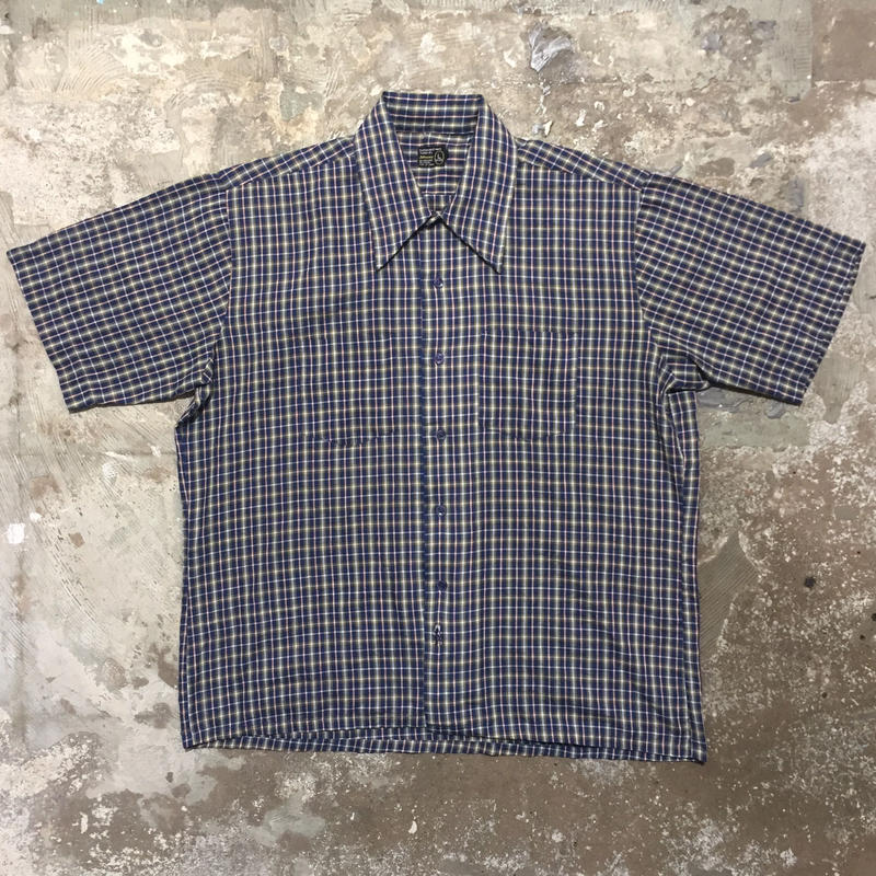 70's JCPenney Plaid Box Shirt