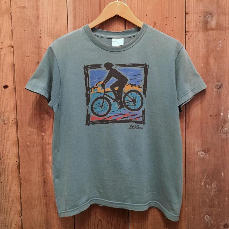 ~90's L.L.Bean Bicycle Tee