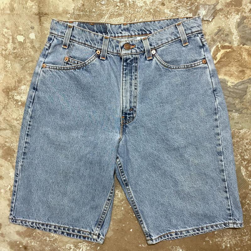 90's Levi's 550 Denim Shorts W : 32