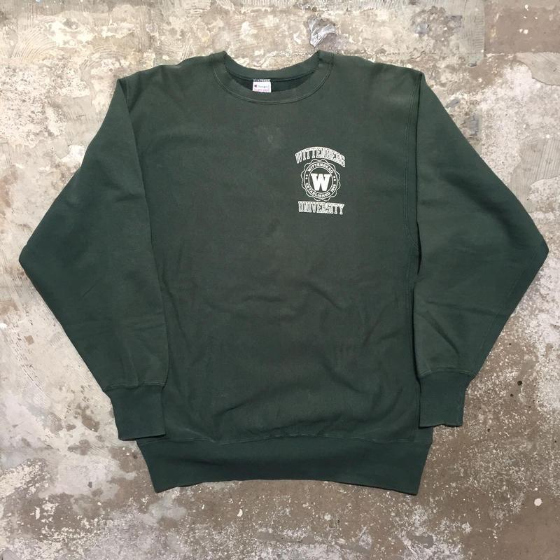 90's Champion REVERSE WEAVE Sweat Shirt WITTENBERG.U (SIZE : XXL)