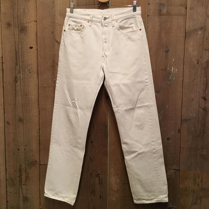 90's Levi's 501 WHITE Denim Pants W:32