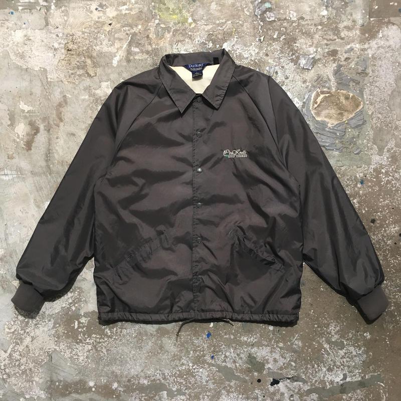 90's~ Duckster Nylon Coach Jacket