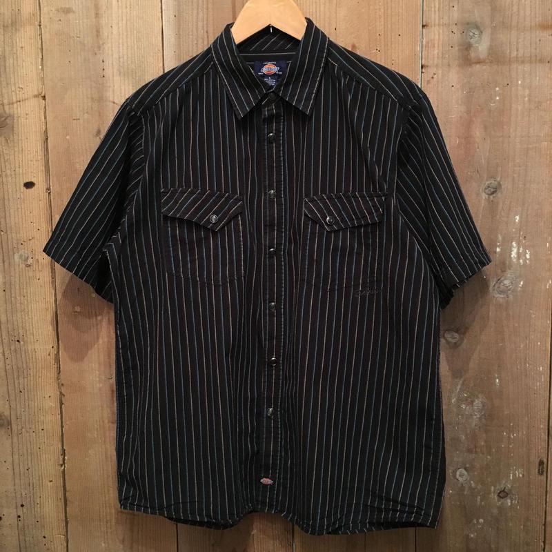Dickies S/S Western Shirt BLACK  L