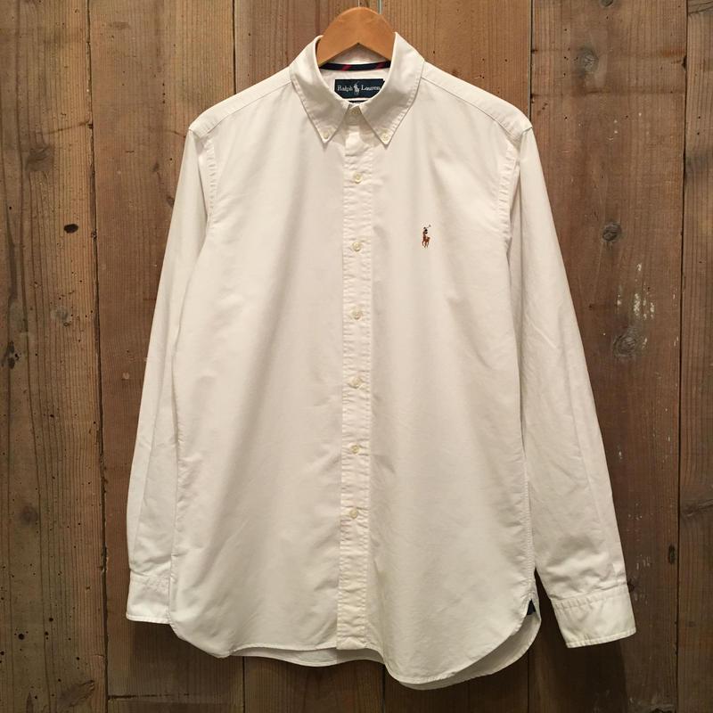 Ralph Lauren B.D Oxford Shirt WHITE