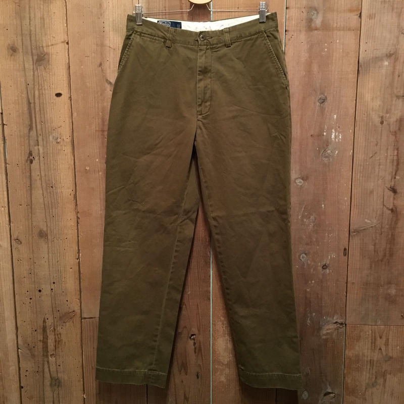 Polo Ralph Lauren Chino Pants OLIVE W : 32