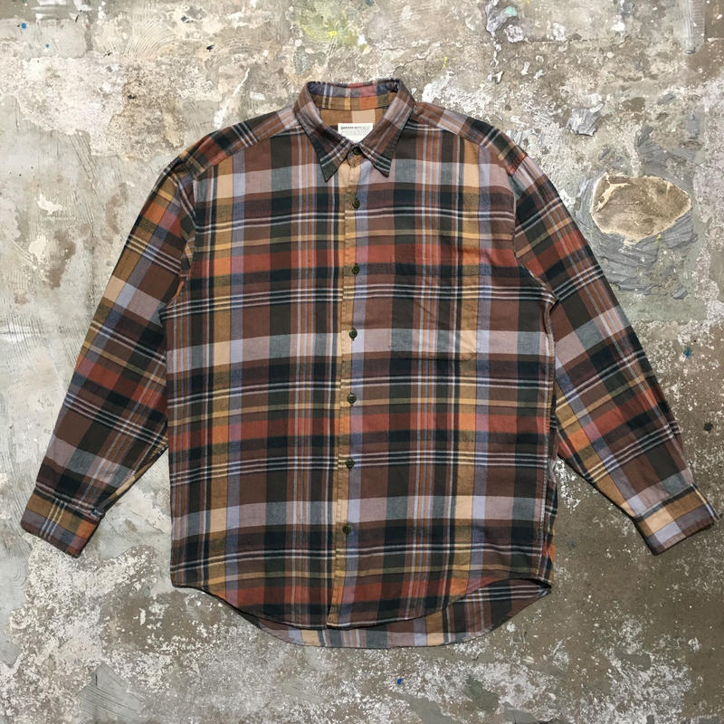 90's BANANA REPUBLIC Light Flannel Shirt