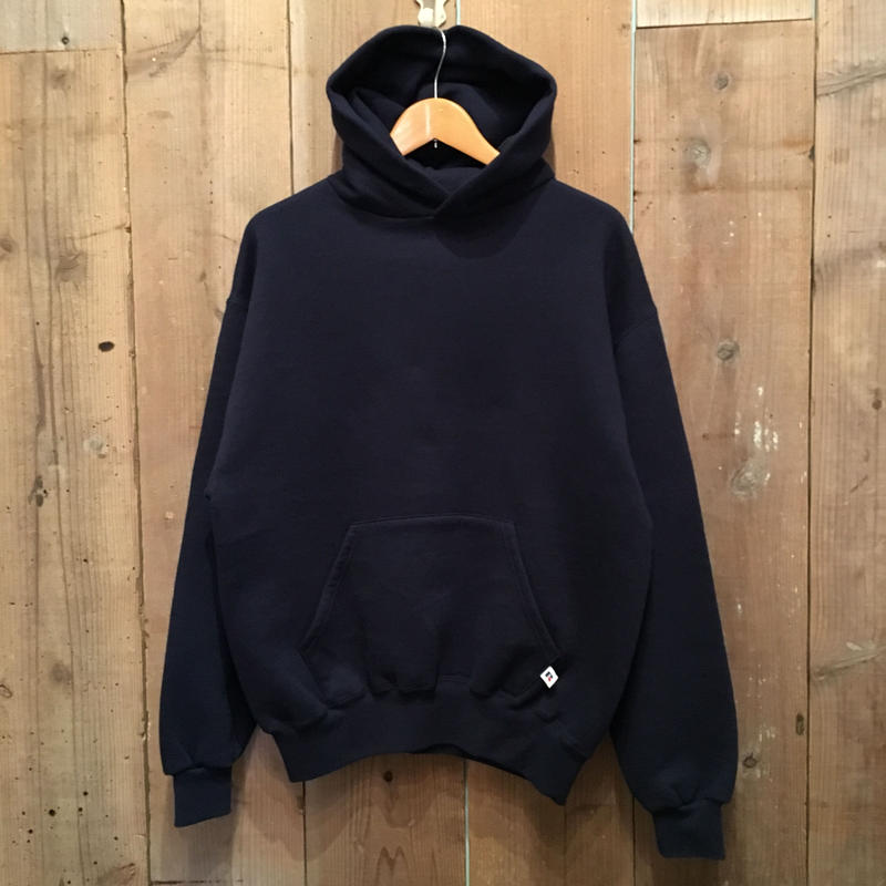 90's~ Russell Athletic Hooded Sweatshirt