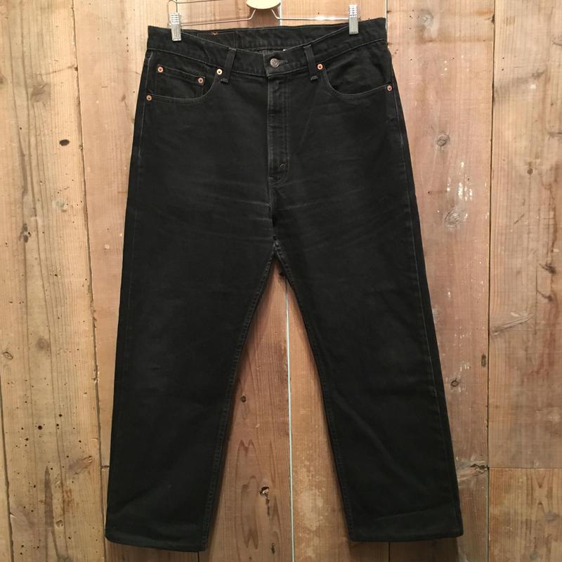 90's Levi's 505 Black Denim Pants  W : 36