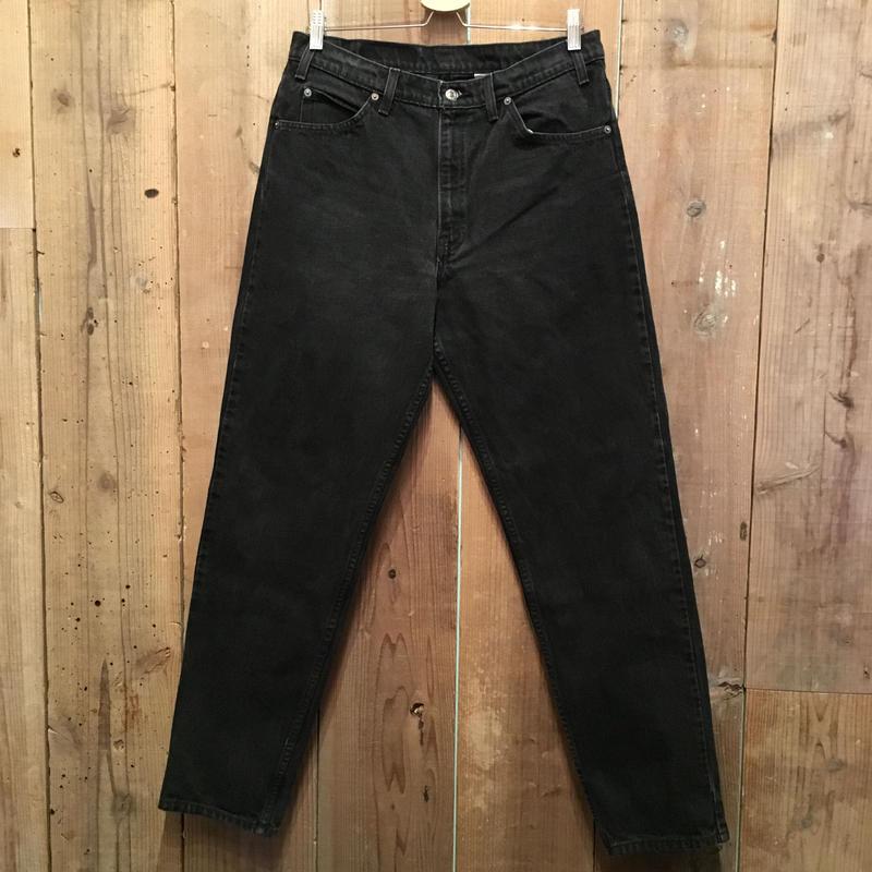 90's Levi's 550 Black Denim Pants  W : 34  #1