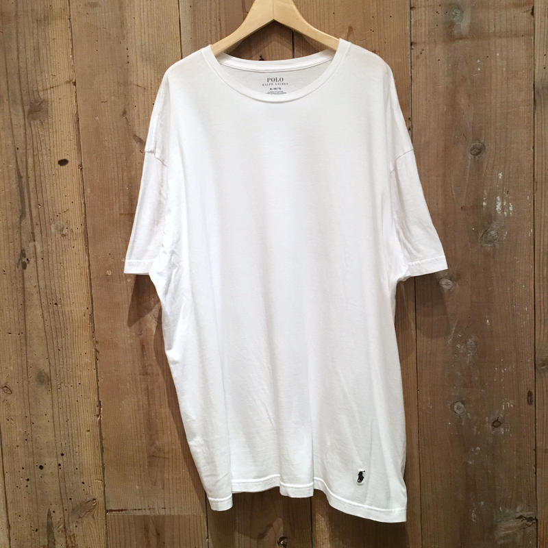 POLO RALPH LAUREN Plain Tee WHITE