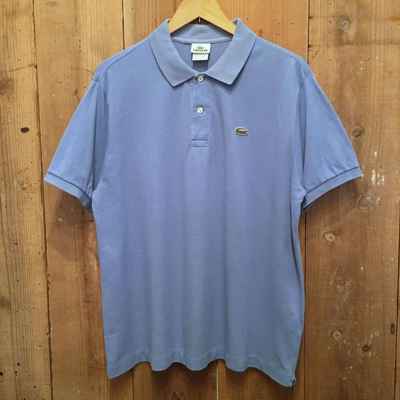 LACOSTE Polo Shirt  L.BLUE