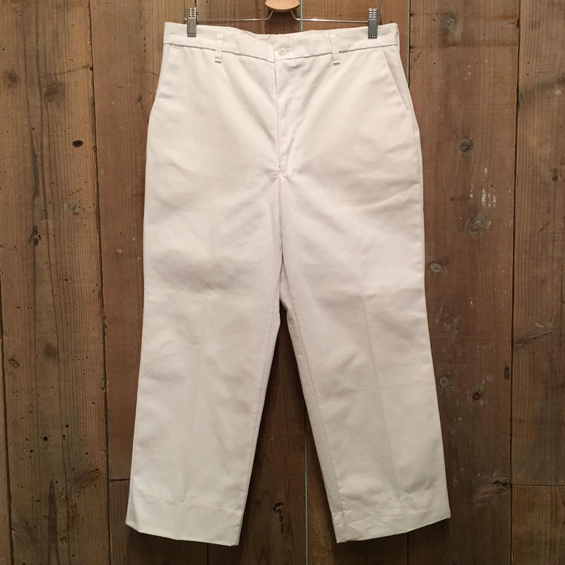 90's~ RED KAP Work Pants WHITE W : 34