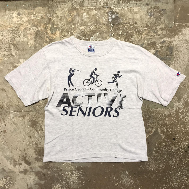 90's Champion ACTIVE SENIORS Tee