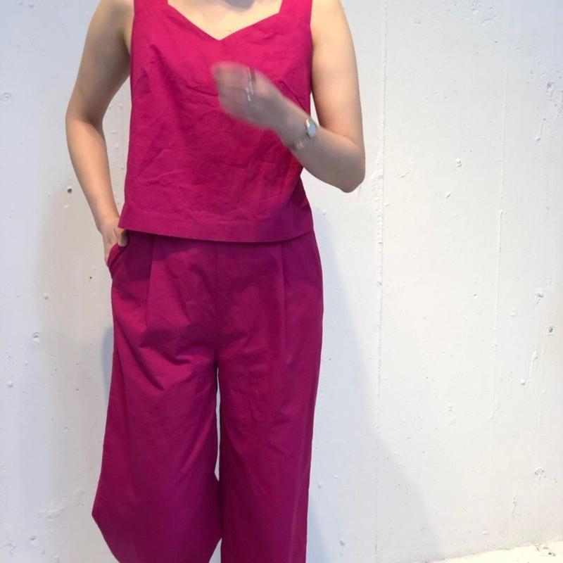 バックデザインオールインワン(ピンク)