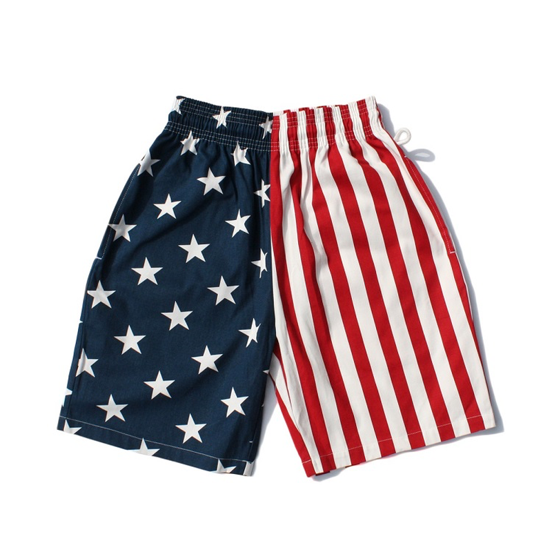COOKMAN - Chef Short Pants「Crazy Pattern U.S.A.」